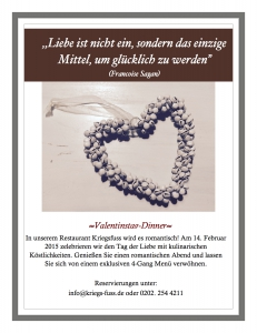 Valentinstag Newsletter