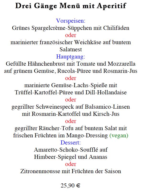 kriegsfuss catering Blog Archive Und hier nun Ihr Drei-Gänge-Menü ...